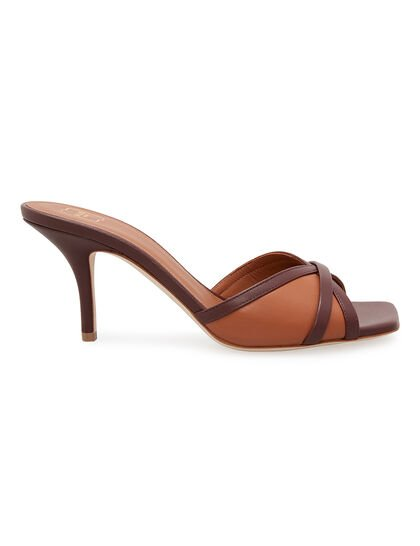 Perla 70 Leather Mules