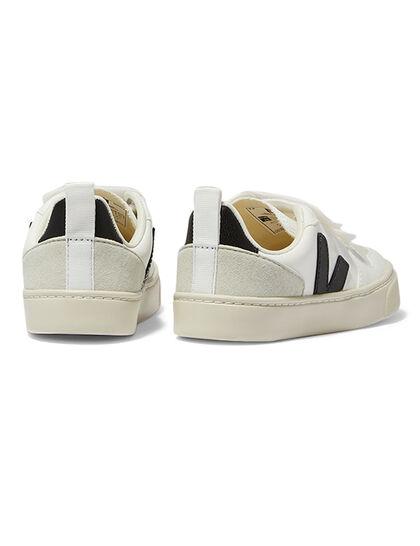 Small-V-10-Velcro Cwl White_Black