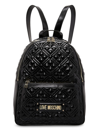 Qulted Medium Backpack