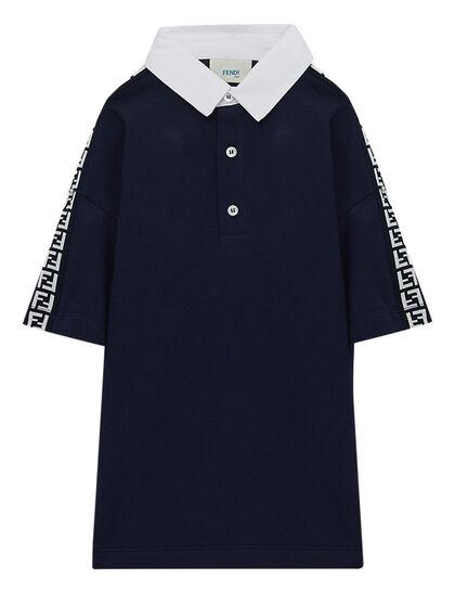 Logo Trim Polo Shirt
