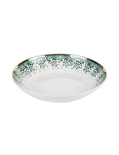 Mirrors Soup Bowl - Emerald