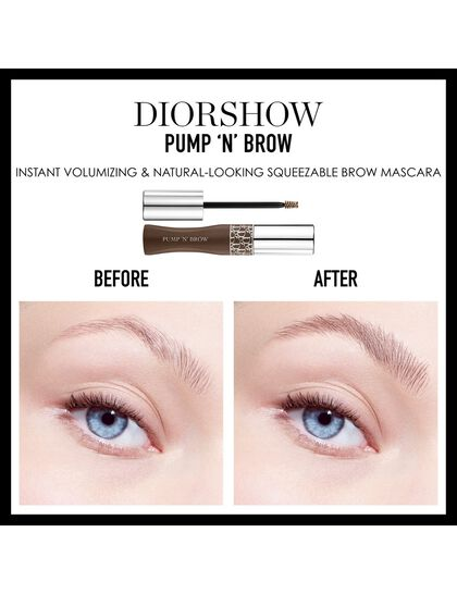 Diorshow Pump 'N' Brow Instant Volumizing Mascara