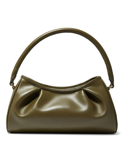 Dimple Croco Pearl Leather Jade