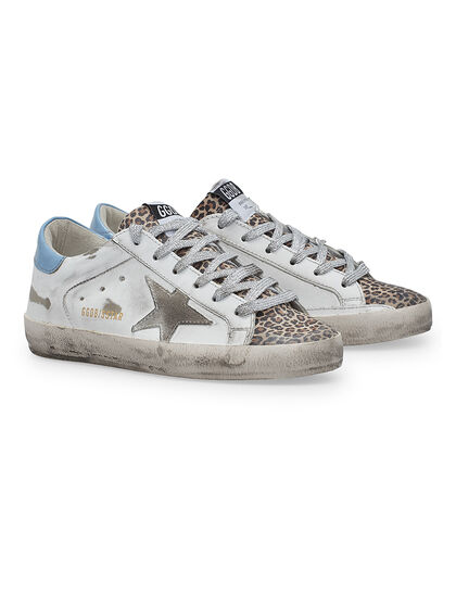 Super-Star Leather Upper Suede Star Leopard Suede Toe