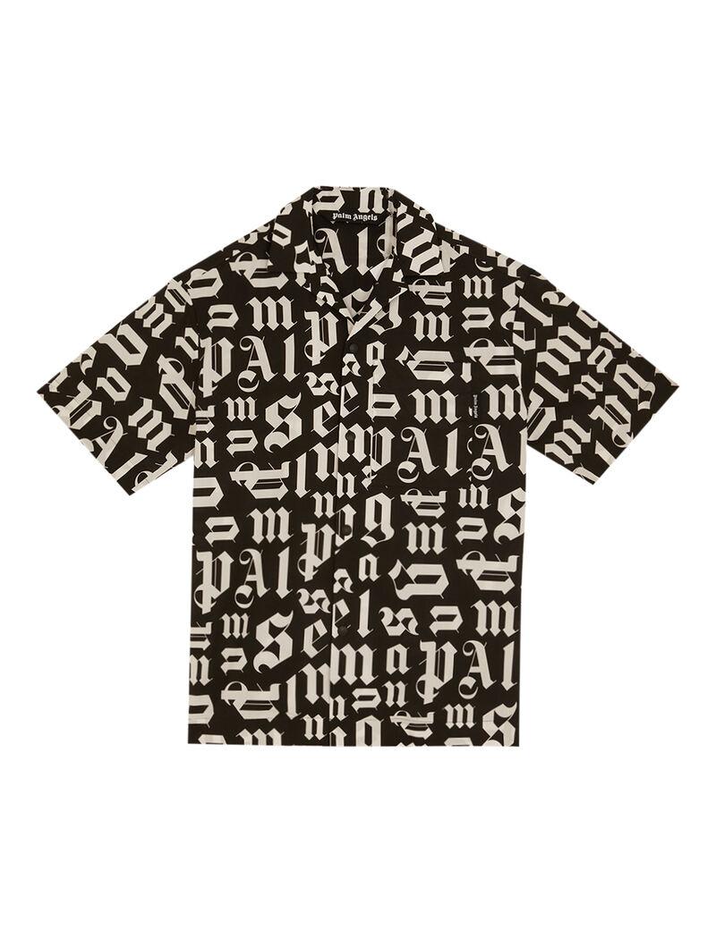 Broken Monogram Bowling Shirt
