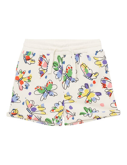 Baby Butterfly Cotton Shorts