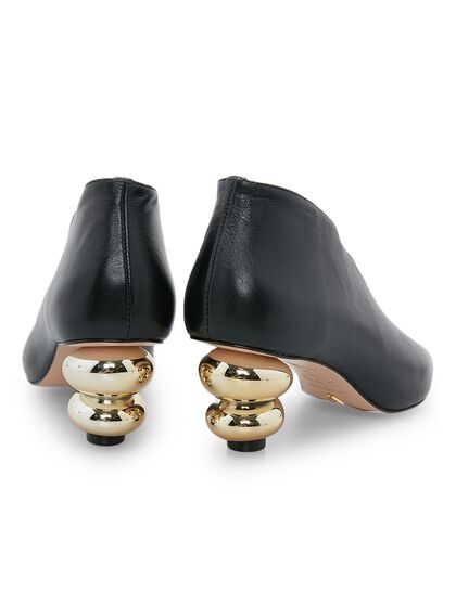 Bootie With Statement Heel