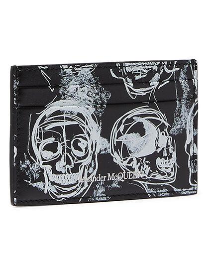 Skull Print Cardholder