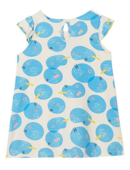 Frill Shoulder Dress