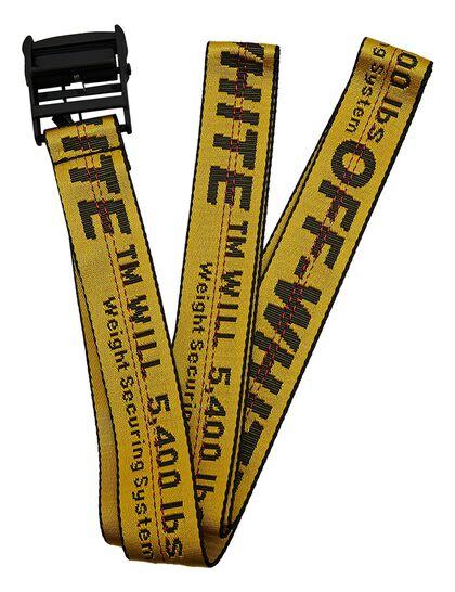 Classic Industrial Belt Yellow Black