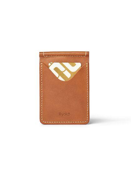 Jones Clip Wallet - Tan