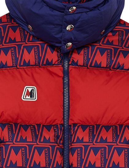 Jacket Logo Printed Polyester