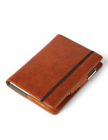 Leather Cover For Moleskine Notebook