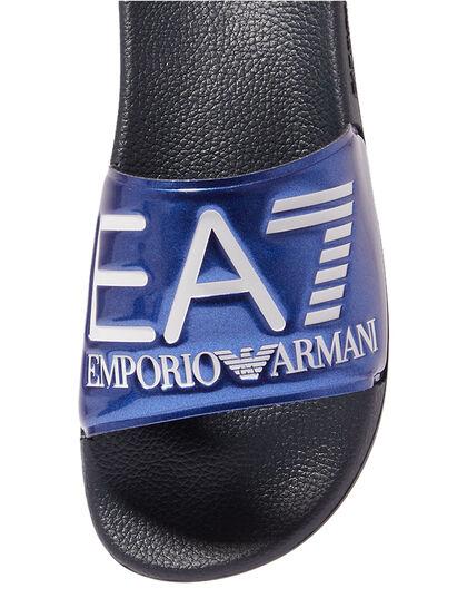 Embossed Logo Slides