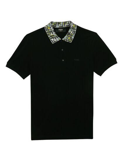 Polo Collar Camou Ff