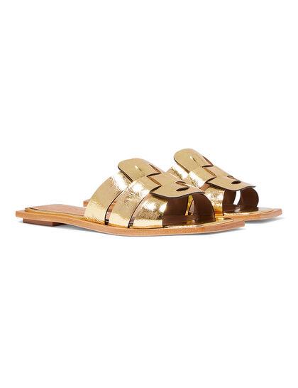 Metallic Slip-on Flats