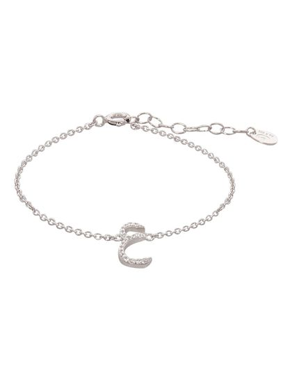 Bracelet With Paved Arabic Let
