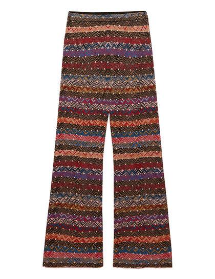 Zig-Zag Multi-Colored Pants