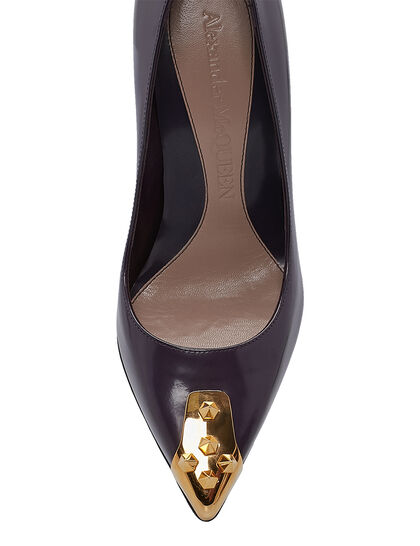 Pump With Gold Studs