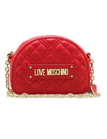 Quilted Small Curved Cross Body