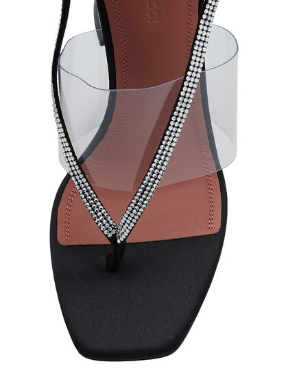 Sandal T.95 Cl Lace Up Crystals