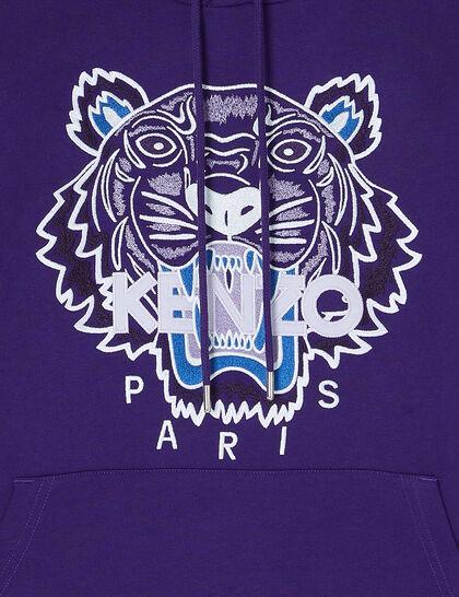 Tiger Embroidered Hoddie