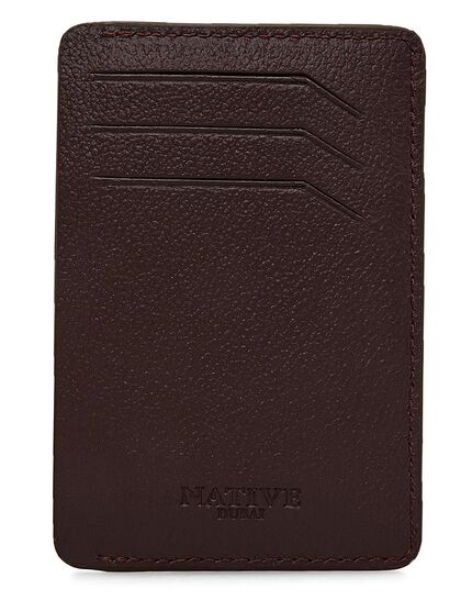 Smart Credit Card Holder In Black