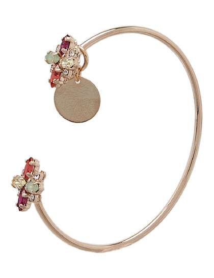 Double-Crossed Crystal Cuff