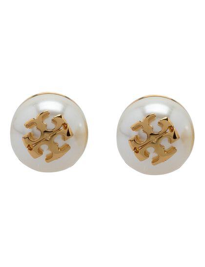Crystal Pearl Stud Earring