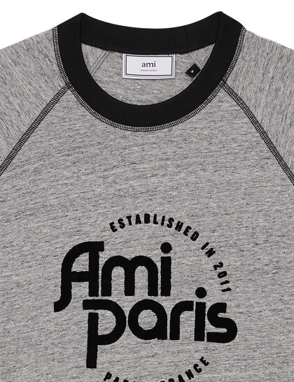 AMI PARIS Cotton T-shirt