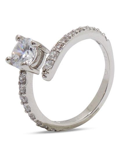 Silver Wraparound Ring