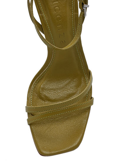 Sandals With Raffia Heel