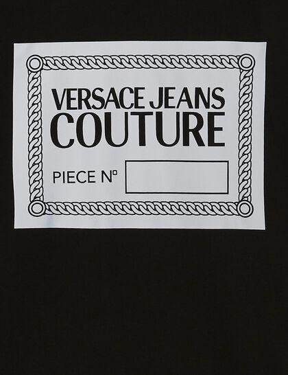 Logo Plaque Print T-Shirt