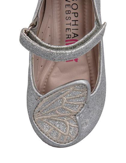 Bibi Butterfly Glitter Textile Infant