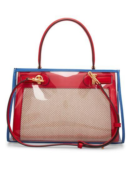 Lee Radziwill Canvas Raincoat Small Bag