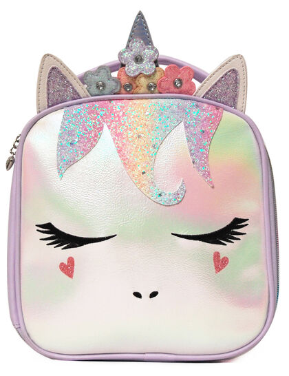 Miss Gwen Glitter Lunch Bag
