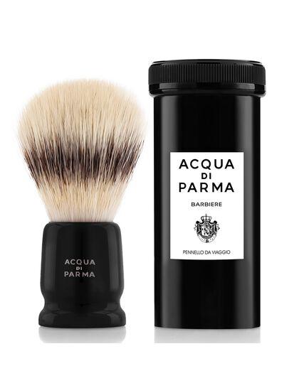 Black Travel Shaving Brush