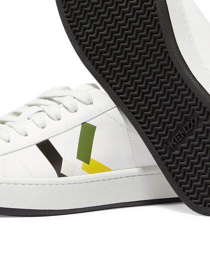 K-Logo Lace Up Sneakers