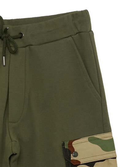 Track Pants Camou Pocket