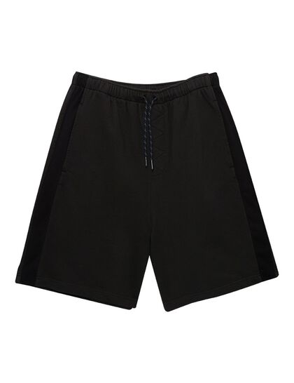 Hadba Sweat Shorts W Mesh Detail