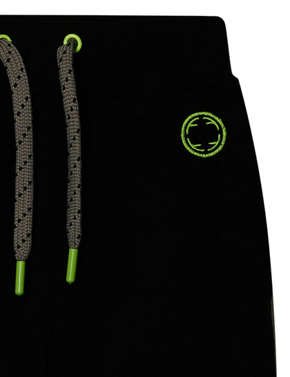 Fabric Flavours Black Padded Knee Joggers