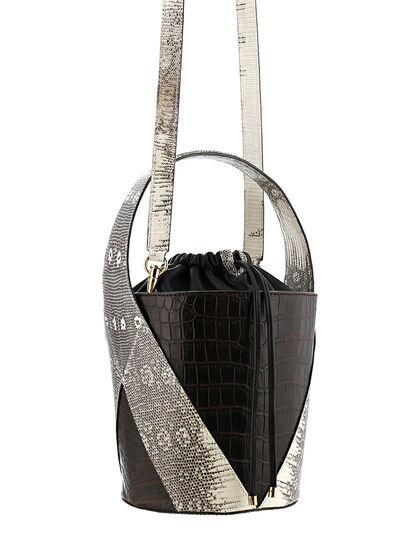 Croc-Lizard Elia Bucket Bag