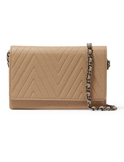 Montroi Wallet On Chain Beige