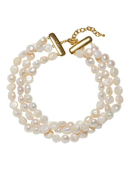 Gbx Woman Costume Jewelry Gipsette Bracelet Gold