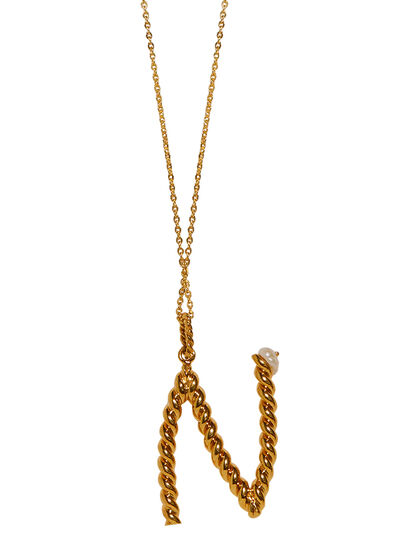 N-Letter Gold Necklace