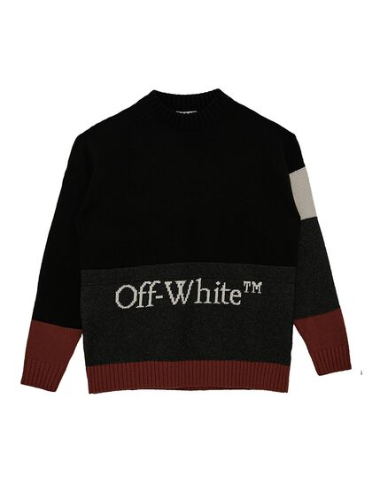 Color-Block Logo Jumper