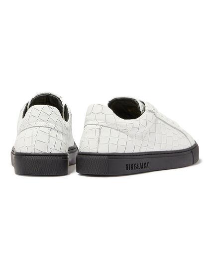 Essence Embossed Low-Top Sneakers