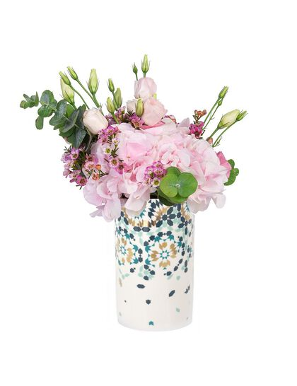 Mirrors Vase - Emerald