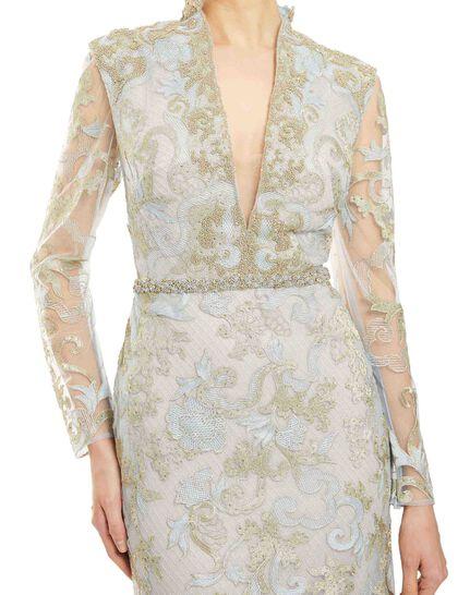 Lace Trumpet Gown