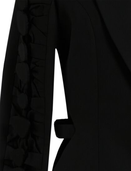 Blazer With Traditional Lapel